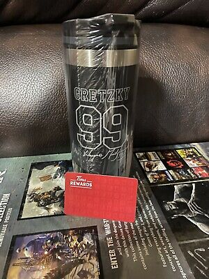 2020 New Tim Hortons Wayne Gretzky Signature Limited Edition Travel Tumbler