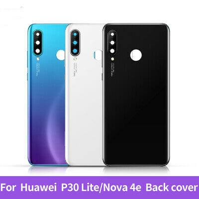 Genuine For Huawei P30 Lite Rear Glass Battery Cover Replacement CAMERA Lens