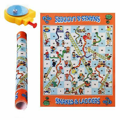 Giant Snakes and Ladders Game Outdoor Indoor Family Kids Fun