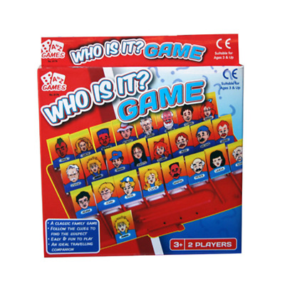 A to Z Who Is It? Traditional Board Game Childrens Deductive Toy IQ Training