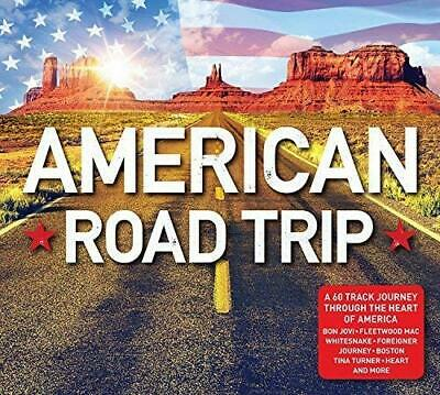 American Roads Trip - various formats [3 CD's, 60 Tracks, Classic, Travel] NEW