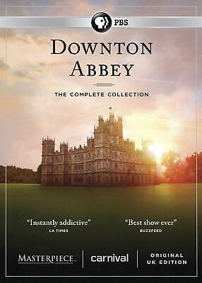 Downton Abbey: The Complete Series Collection [Seasons 1 2 3 4 5 6 DVD Box Set]