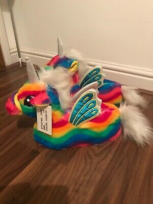 BNWT Amazing Ladies Unicorn Slippers size 7/8