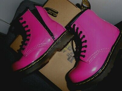 Dr Martens Brooklee Boots Toddler Girls Size Uk7 Eu24 Genuine Good Condition
