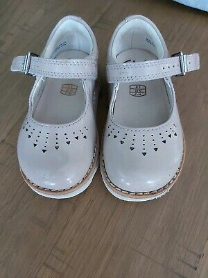 Clarks Girls Air spring Shoes Infant Size 4f