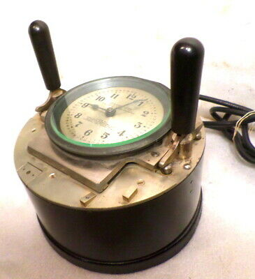 Unusual Pool Hall Calculagrqph Complete With Handles & Signed On Dial