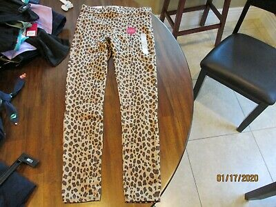 NWT So girls Ultimate Jegging sz 12 animal print Cheetah pullon superstretch $32