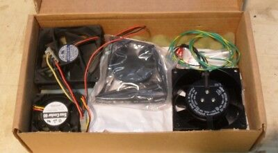 Bulk lot of Small machine or PC fans x3. as new.