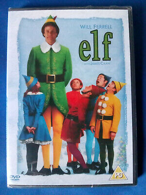 ELF (2003) 2-Disc DVD * NEW * SEALED * WILL FERRELL * FREE 1st CLASS P&P * UK R2