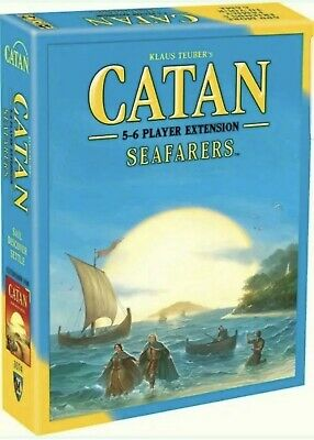 Catan Seafarers 5-6 Player Extension Board Game, Free Shipping From USA.