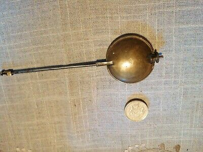 Antique/Vintage BRASS CLOCK PENDULUM / Bob - Weighs 73 Grams