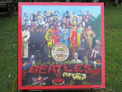 Beatles Sgt Pepper's 50th Anniversary Deluxe Boxed Set 4 CD Blu Ray / DVD New