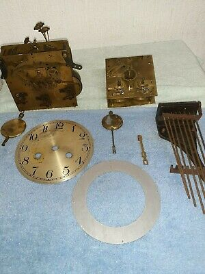 Vintage/Antique Clock Movements And Some Parts