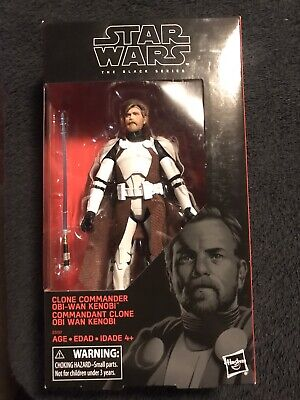 Star Wars The Black Series Walgreens Exclusive Clone Commander Obi-Wan Kenobi