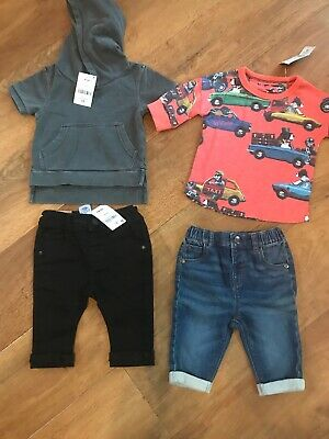 New Next Baby Boys  Tops / Jeans   Bundle  3 - 6  Months   £ 32