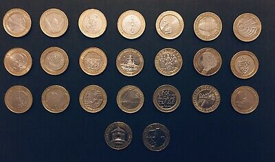 2 Pound Coin Job Lot - Ideal For Collectors x22 Rare £2 Coins