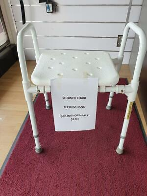 Shower Stool Used  Very Good Condition
