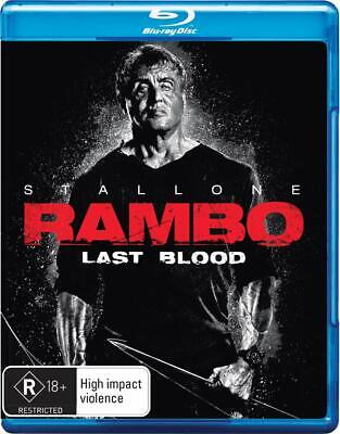 RAMBO 5: LAST BLOOD (2019):Sylvester Stallone, Action, Thriller - Au RgB BLU-RAY