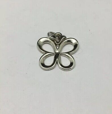 James Avery Sterling Silver Butterfly Charm Retired