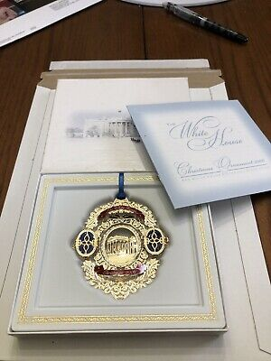 2006 The White House Christmas Ornament In Original Box Historical Association