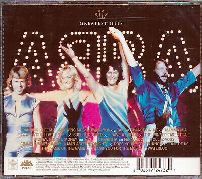 ABBA Gold Greatest Hits CD NEW Dancing Queen Waterloo
