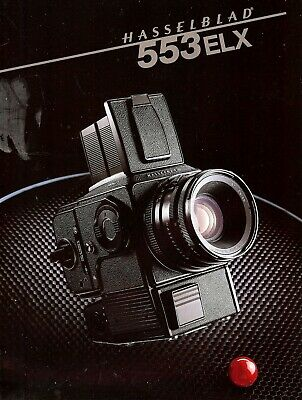 HASSELBLAD 553ELX CAMERA BROCHURE -from 1988-HASSELBLAD 553 ELX