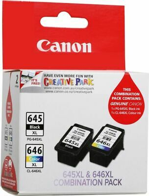 Canon 645XL & 646XL Value Pack Ink Cartridge