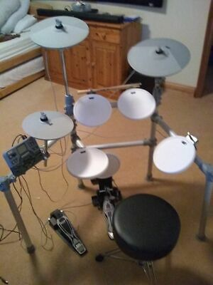 KAT KT2 5-piece Electric Drum Kit & hardly used Gibraltar Drum Throne / Stool