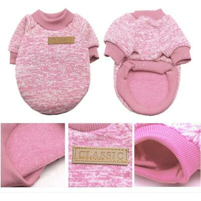 Pet Clothes Soft Thickening Warm Pup Knitwear Dog Sweater EHE8