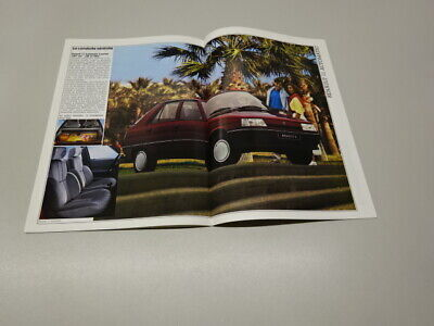 1988 RENAULT 11 BROCHURE, FRENCH MARKET, in FRENCH. JUNE 87.