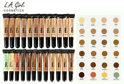 LA L.A Girl Pro Conceal HD Concealer New & Sealed - All Colours You Choose qr
