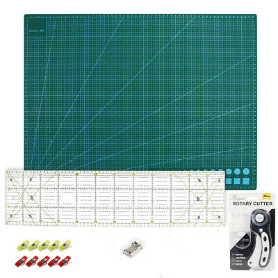 Cutting Mat A2 Rotary Cutter Spare Blade Patchwork Ruler Patchwork Pins