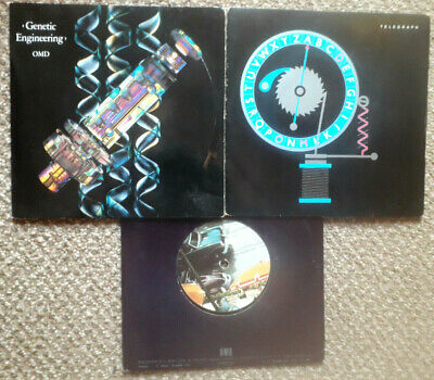 ORCHESTRAL MANOEUVRES IN THE DARK - 4 x 45's - ROCK -POP - BEAT. EX+ COND. RARE