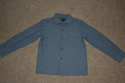 BOYS BLUE HOWICK SHIRT - AGE 7-8 YEARS (excellent condition)