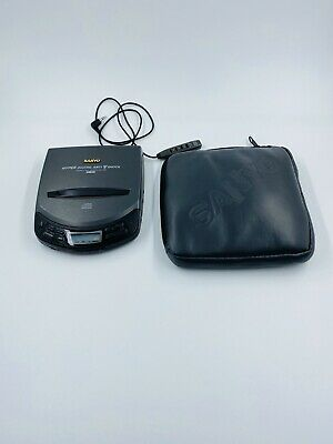 Vintage Sanyo CDP-550 Compact CD Player, disc player With Case