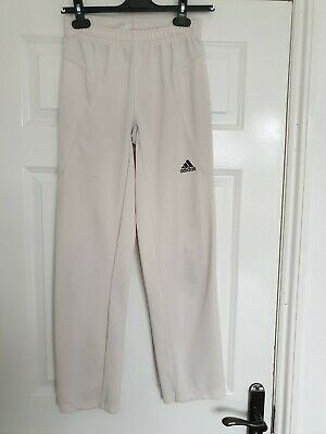 Girls Adidas Cream /Irovy Tracksuit Bottoms, Aged 11/12