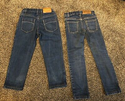 Ted Baker Jeans 4-5 Yrs X 2 Pairs