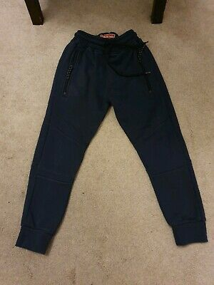 NEXT boys skinny navy blue joggers jogging bottoms age 6