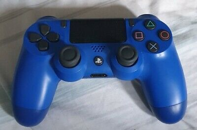 SONY PLAYSTATION PS4 DualShock 4 V2 Wireless Controller BLUE Sony - FREE P&P NR
