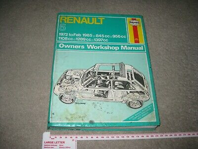 research.unir.net 1972 TO 1985. N.O.S AUTODATA MANUAL FOR RENAULT ...