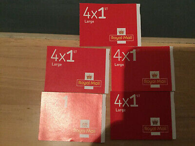 20 x Large Letter 1st First Class Postage Stamps. Royal Mail