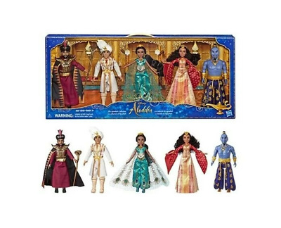 Disney Aladdin Agrabah Collection, 5 Fashion Dolls with Accessories