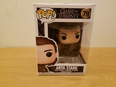 Funko Pop! Game of Thrones: Arya Stark with Two Headed Spear #79 Vinyl Figure