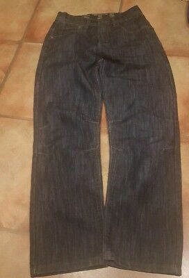 Boys Dark Blue Adjustable Waist Jeans Age 11 Years