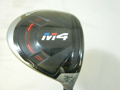 New Taylormade 2018 M4 16.5* 3 HL Wood M-4 FJ Atmos Regular flex RH
