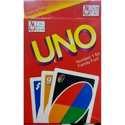 Uno Card Game Mattel Wild Original Classic Party Playing Flip Brand Double Sided