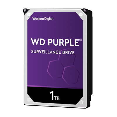 WD Purple 1TB 2TB 4TB 8TB HDD Surveillance Hard Drive Western Digital