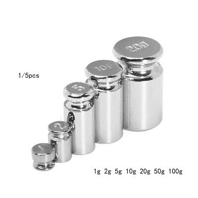 Tool Chrome Plating Scale Weights Sets Accurate Calibration Set Weighing Scales