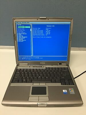 "Dell Latitude D610 14"" Laptop Intel Pentium M 2.0GHz 256MB DVD ROM FREE SHIPPING"