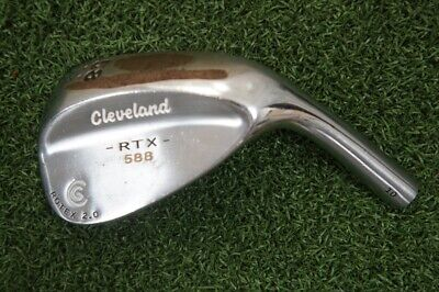 Cleveland 588 Rtx Rotex 2.0 58* Degree Wedge Head Only 273541
